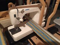 Quilting frame & long arm sewing machine