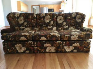 Free very comfortable couch and matching swivel chair