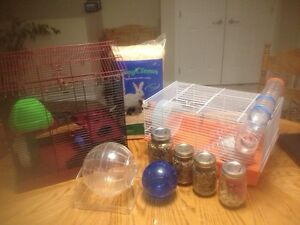 Hamster cages plus other stuff Kingston Kingston Area image 1