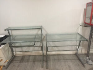 Glass Desk Tables
