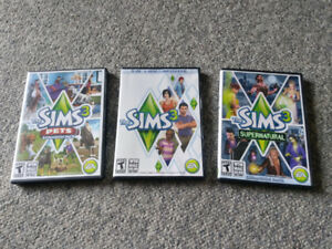 The Sims 3 with 2 Expansion Packs For Windows and Mac