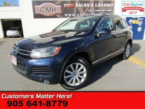 2013 Volkswagen Touareg COMFORTLINE  AWD, NAVI, HEATED LEATHER,