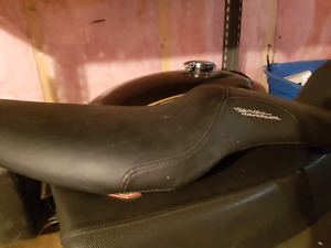 Harley sportster 2 person seat