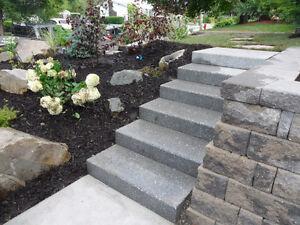 Gardens & Landscaping - J. Brown Excavating Ltd.
