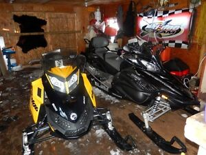 Mint 2012 Yamaha Snowmobile