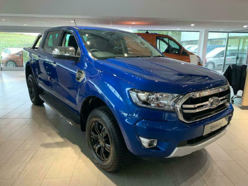 New Ford Lightning >> New Ford Ranger Limited 2 0tdci 170ps 10 Speed Automatic In Blue Lightning In Morecambe Lancashire Gumtree