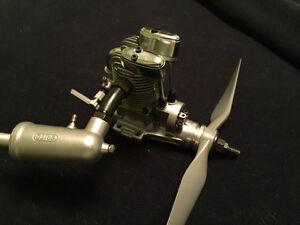 Saito FA-91s 4 stroke RC engine