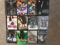 Collection of dvds including box sets