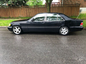 Top of the line 1997 Mercedes S-Class Low Kilometres only 169k