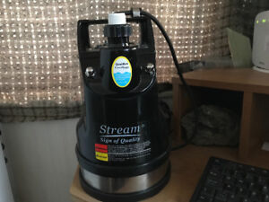 "Submersible Puddle Pump Stream SPK450 450W 25mm (1"")"