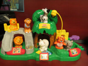 Fisher Price Little People Learning Zoo Playset