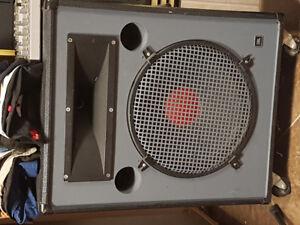 JBL PA speakers