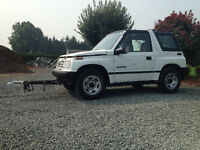 1991 Tracker (4x4) Full Towing Package