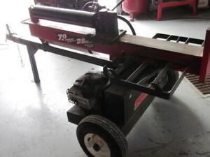 Fendeuse a bois 28 Tons 7HP Log Splitter