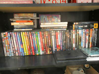 LOTS OF DVD's & MISC Wii & XBOX GAMES