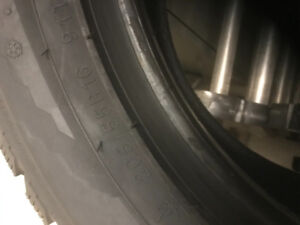 205/55/r16 Kumho winter tires and rims