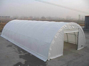 Commercial greenhouse/storage shelter