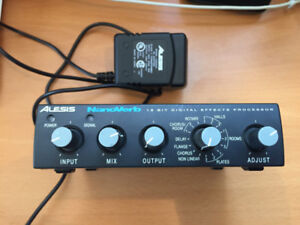 Alesis NanoVerb, digital effects processor