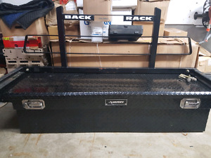 tool box and back rack
