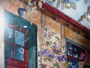 """Art Studio Colors by Imke Pearson """"The Red Door"""" 1980's Stratford Kitchener Area image 8"""