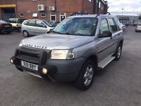 LEFT HAND DRIVE LAND ROVER FREELANDER TD4 AUTO. FULL LEATHER