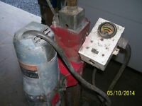 Milwaukee core drill and stand