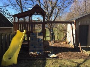 Outdoor Play Structure - for hours of joy!