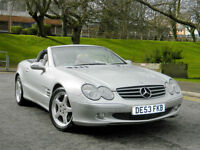 2003 53 REG Mercedes-Benz SL350 3.7 auto SL350