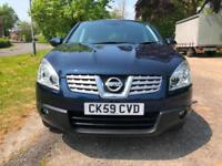 59 NISSAN QASHQAI 1.5 DCI SAT NAV 2WD ACENTA LOW 46K HISTORY IMMACULATE PX SWAP