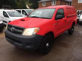 Toyota Hilux HL2 2.5 D-4D 4 WHEEL DRIVE, SINGLE CAB, DIRECT FROM MOD