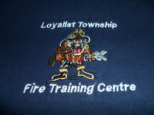 """LOYALIST TOWNSHIP FIRE DEPT T-SHIRT WITH """"TAZ"""""""