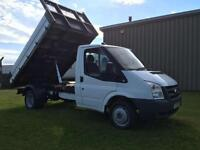 Ford Transit 2.4TDCi Duratorq ( 100PS ) 350 TIPPER PICK UP ONLY 76K !!!!!!!!!!
