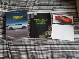 automotive service  and repair books for NSCC