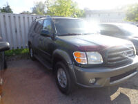 2003 Toyota Sequoia SUV, Crossover only for $4900 was for $5500