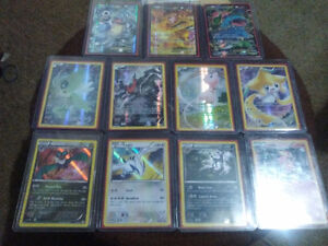 Lots of pokemon holo and ex cards
