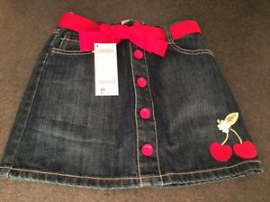 New w/Tags- Gymboree Size 7 Jean Skirt