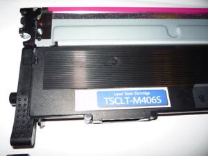 cartouches  poudre   laser   couleur  pour  imprimante  Samsung