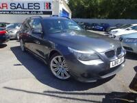 2010 10 BMW 5 SERIES 2.0 520D M SPORT BUSINESS EDITION TOURING 5D AUTO 175 BHP D