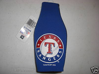 Kolder Texas Rangers Cooler - Texas Rangers Blue Bottle Cooler - MLB Licensed-Kolder