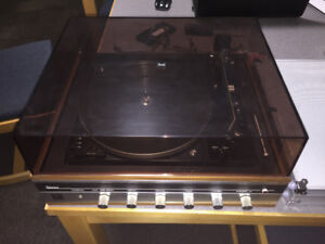 Dual 1210 stereo and turntable combo
