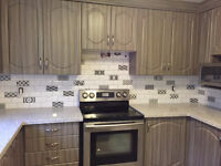 ***Backsplash Kitchen and Shower Tile Installation***