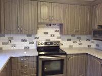 ***Backsplash Kitchen and Shower Tile Installation***