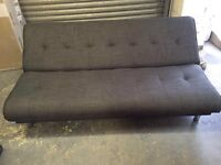 Grey sofa bed brand new boxed