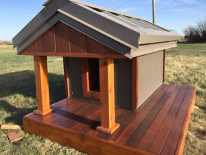 Fully Insulated Dog House