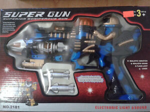 Super Gun (Electronic Toy gun for kids) West Island Greater Montréal image 1