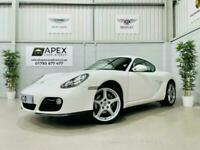 2011/61 Porsche Cayman 2.9 PDK Coupe * White * Sports Chrono Package * WOW