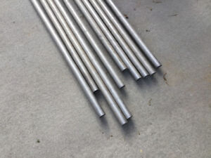 """Stainless Steel Pipe 1 1/4"""" X 19Ft  ASTM SA249 10 Pieces Railing"""
