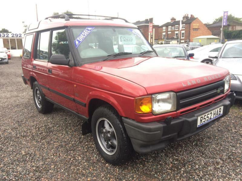 1998 LAND ROVER DISCOVERY TDI AUTO