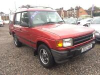 1998 LAND ROVER DISCOVERY TDI AUTO DIESEL 7 SEATER 4X4 ALLOYS TOW BAR SIDE STEPS