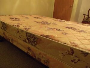 Box Spring & Mattress - Double Bed